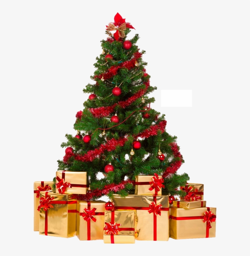 Christmas Tree With Gifts, Christmas Wishes, Christmas - Christmas Tree Decorations Ideas 2017, transparent png #7945430