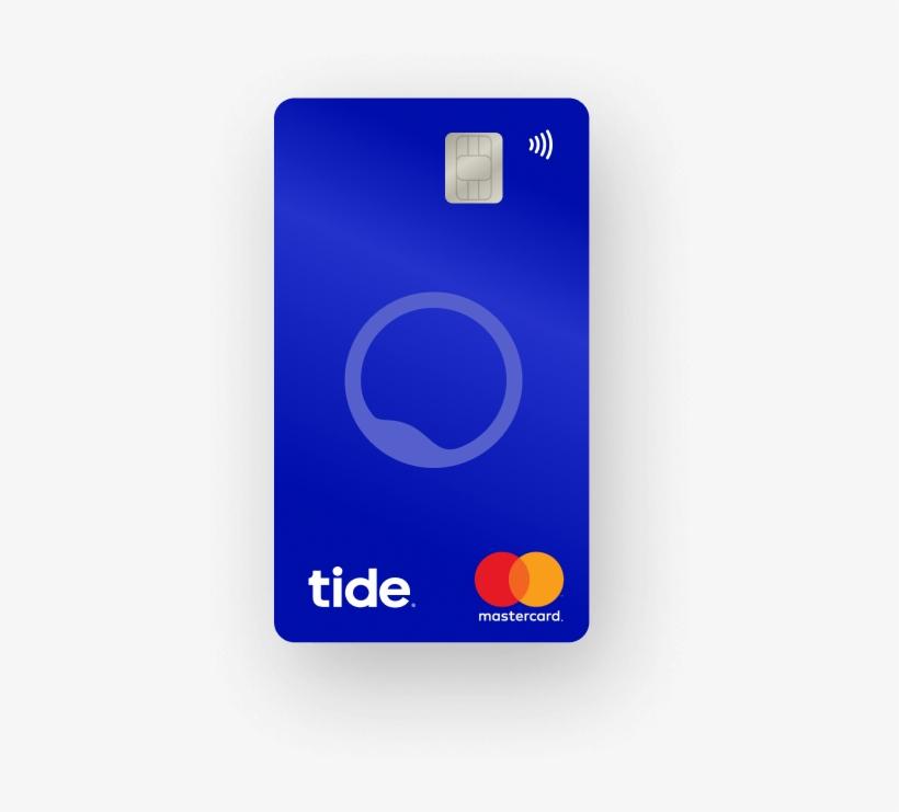 Tide Business Mastercard - Vertical Debit Card Design, transparent png #7949086