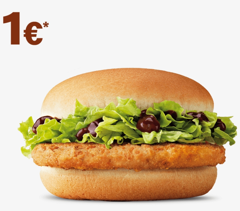 Sandwiches - Mcdonalds Chicken Burger, transparent png #7951299