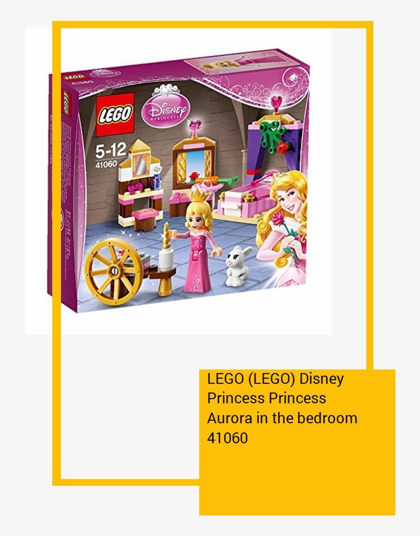 Lego Disney Princess Princess Aurora In The Bedroom - Lego Disney La Belle Au Bois Dormant, transparent png #7953446