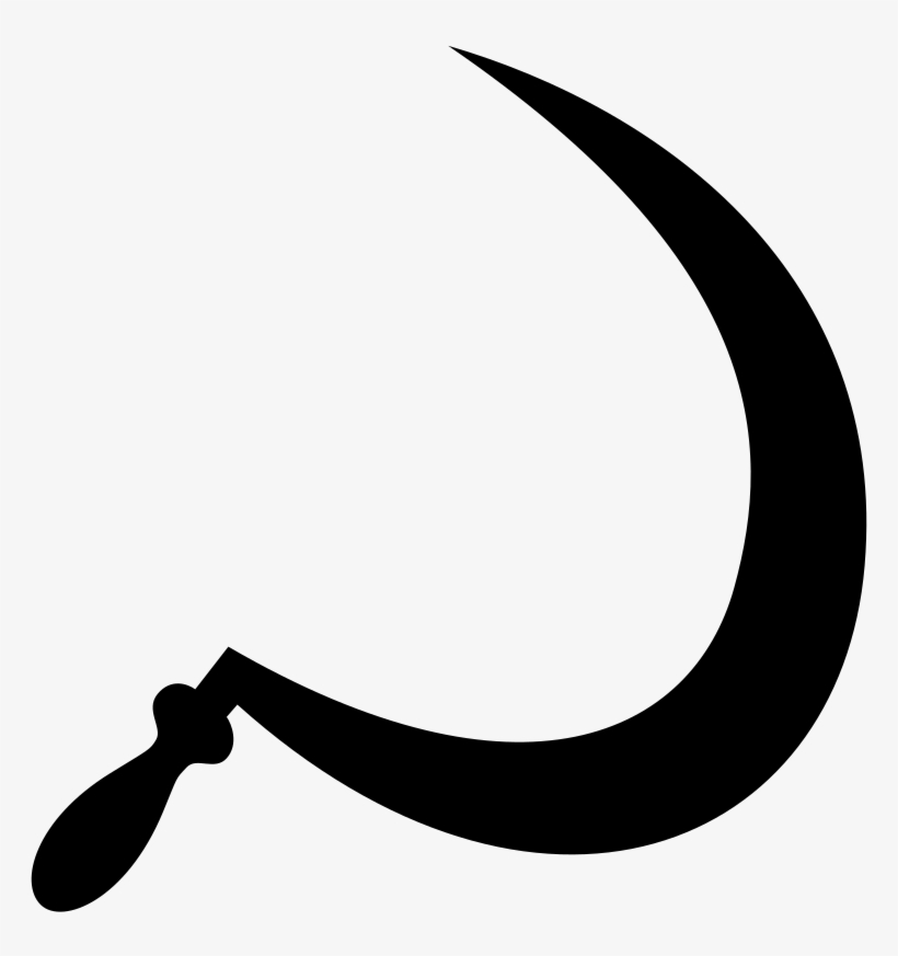Sickle Without Hammer - Hammer And Sickle Without Hammer, transparent png #7959343