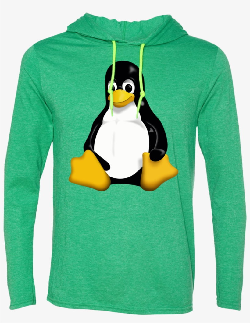 Linux Penguin Ls T-shirt Hoodie - Linux I Want To Believe