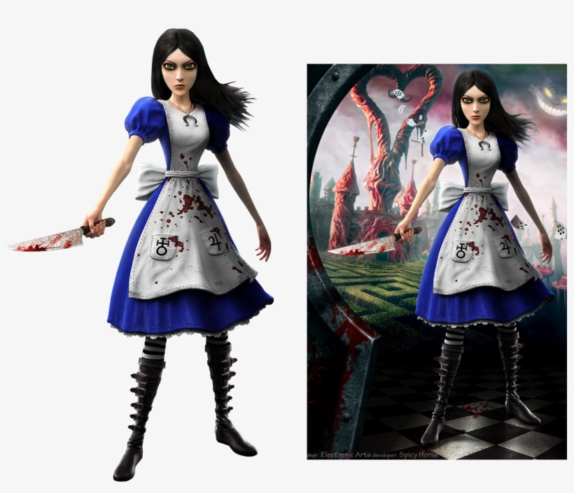 Retour Au Pays De La Folie - Animal Crossing New Leaf Alice Madness Returns, transparent png #7967443