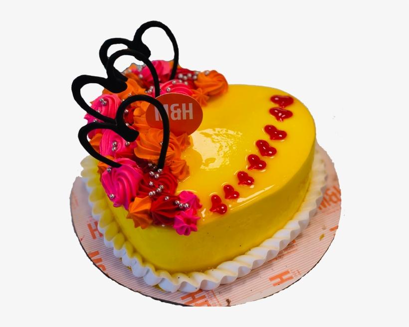Wondrous Heart Shape Pineapple Cake Birthday Cake Free Transparent Png Personalised Birthday Cards Akebfashionlily Jamesorg