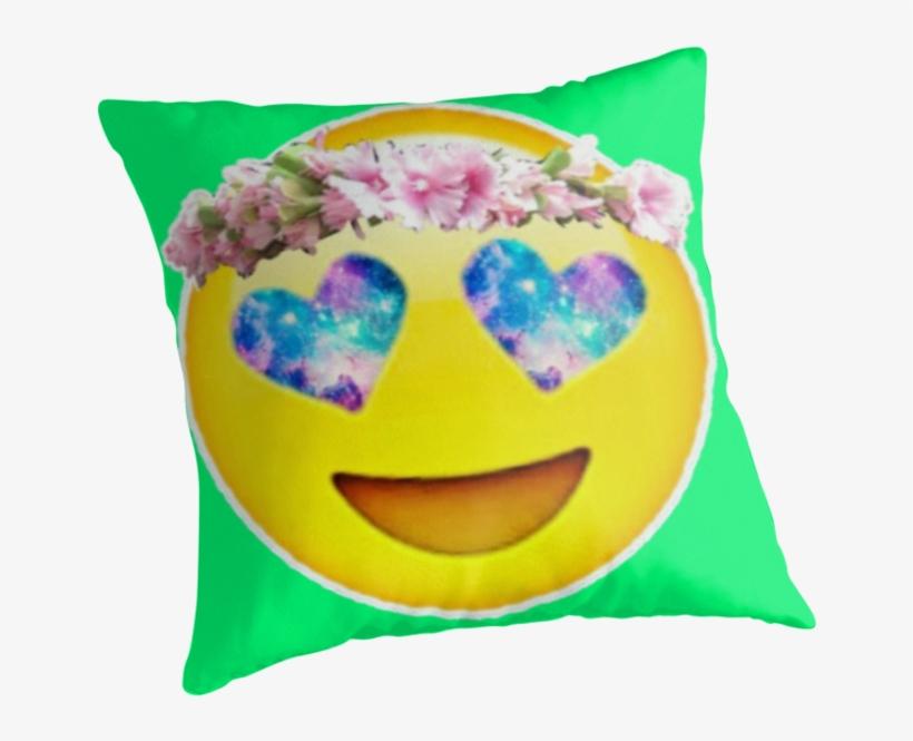 A Flower Crown Emoji - Flowers Healthy