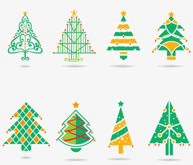Warm Green Winter Christmas Tree Png And Vector Image - Christmas Tree, transparent png #7977119