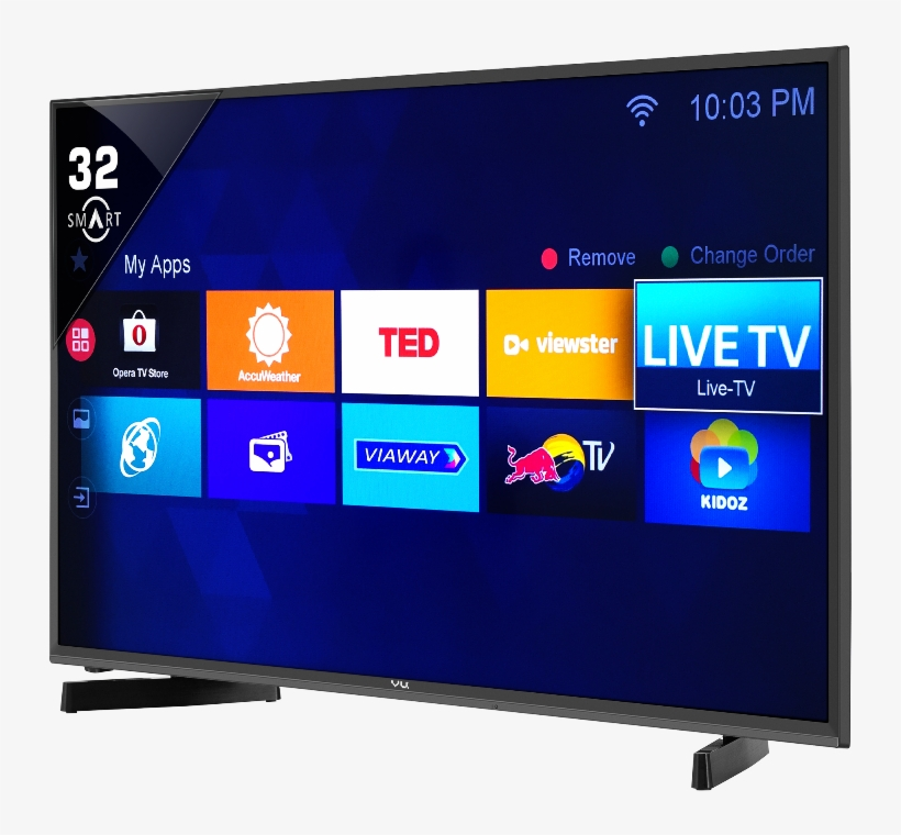 Bringing Forth The Collection Of Unlimited Movies, - Vu Smart Tv 40 Inch, transparent png #7982856