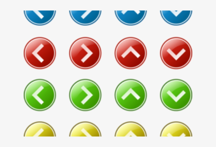 Next Button Clipart Arrow - Blue Arrow Right And Left, transparent png #7984985