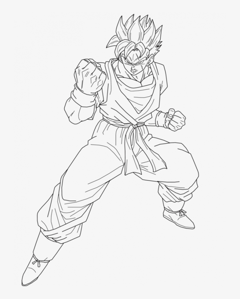 Dragon Ball Coloring Pages Future