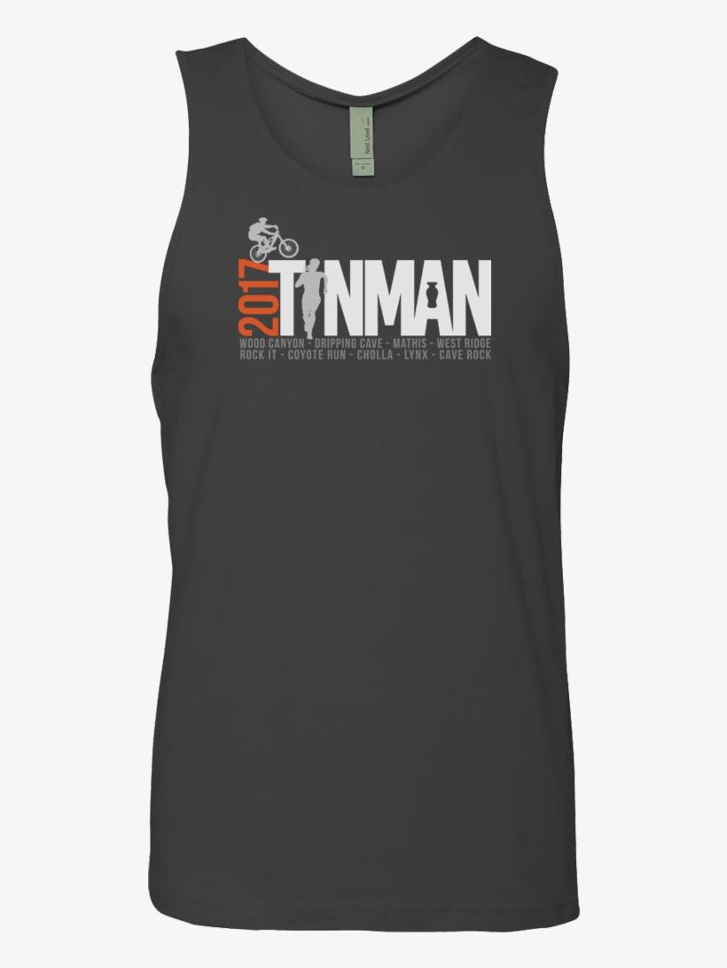 2017 Tin Man Mens Premium Tank - T-shirt, transparent png #7998832