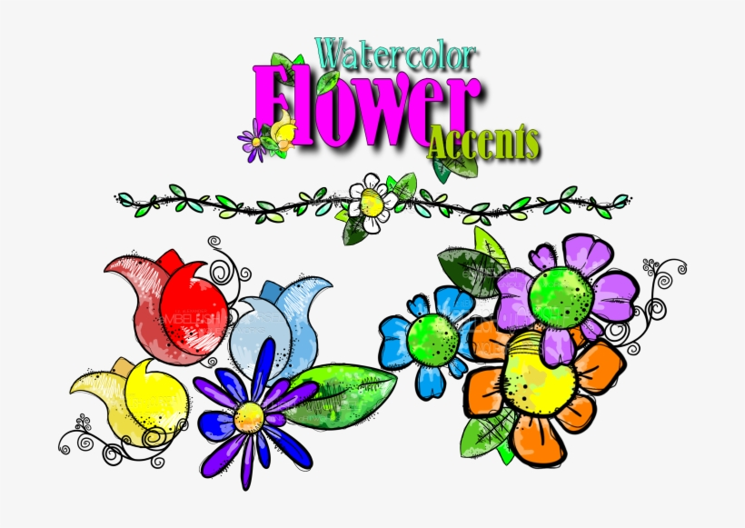Jpg Free Library Watercolor Flower Created By Rz Alexander - Watercolor Painting, transparent png #80543