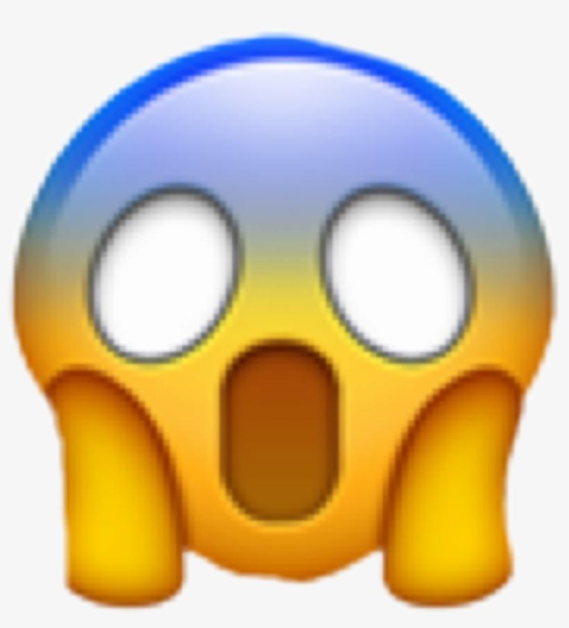 Shocked Emoji Wow Omg Freetoedit - Transparent Background Gasp Emoji, transparent png #81019