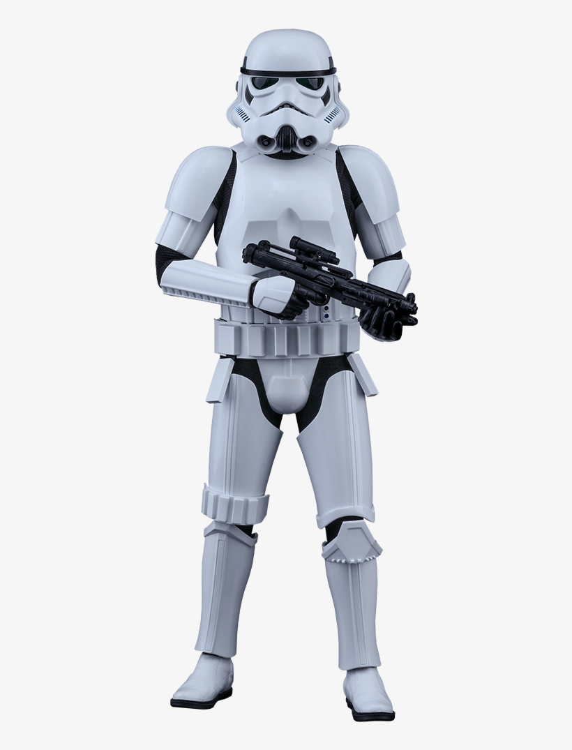 Hot Toys Rogue One: Stormtrooper 1:6 Scale Figure, transparent png #81294