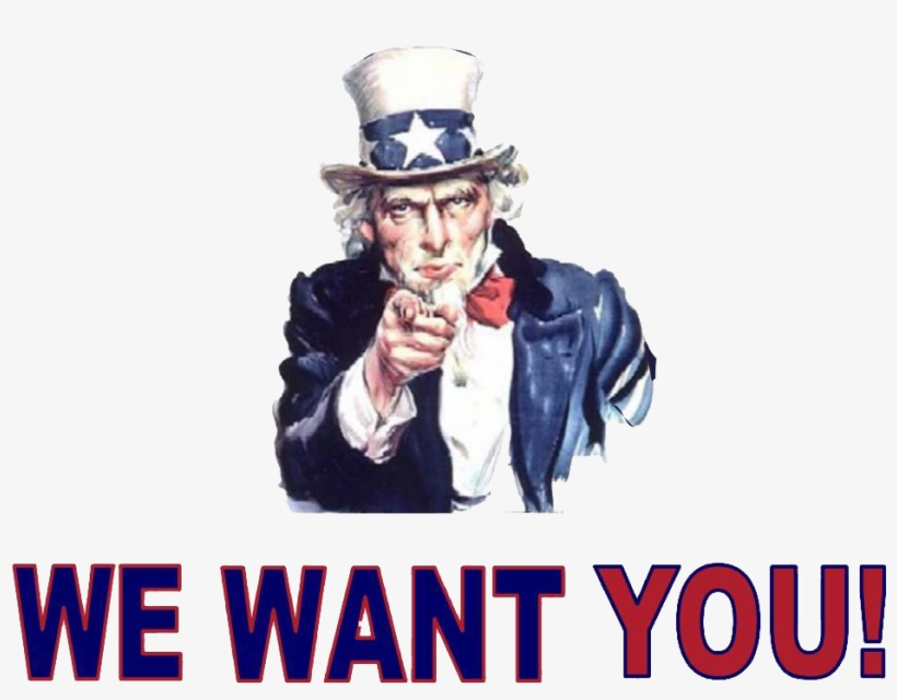 Uncle Sam I Want You Gif, transparent png #81372