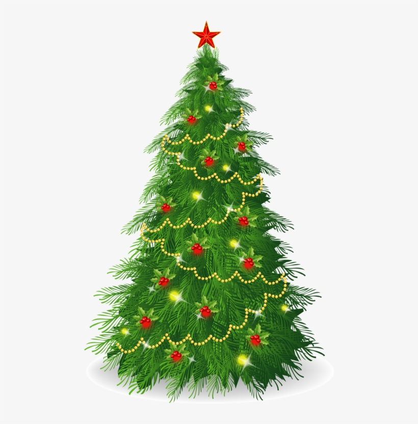 Christmas Illustrations Png.Delightful Christmas Tree Illustrations Blinking Christmas