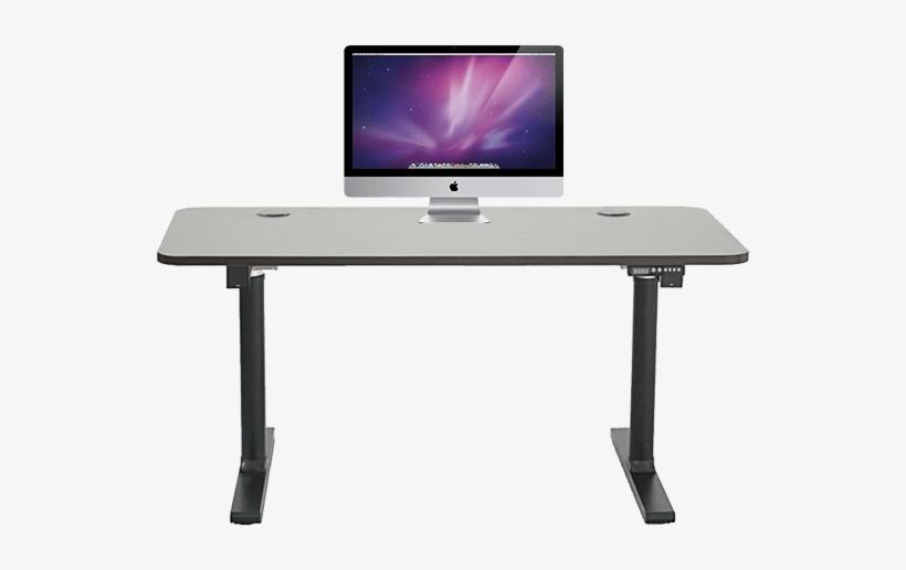 Electric Standing Desk Electric Desk - Electric Standing Desk, transparent png #81851