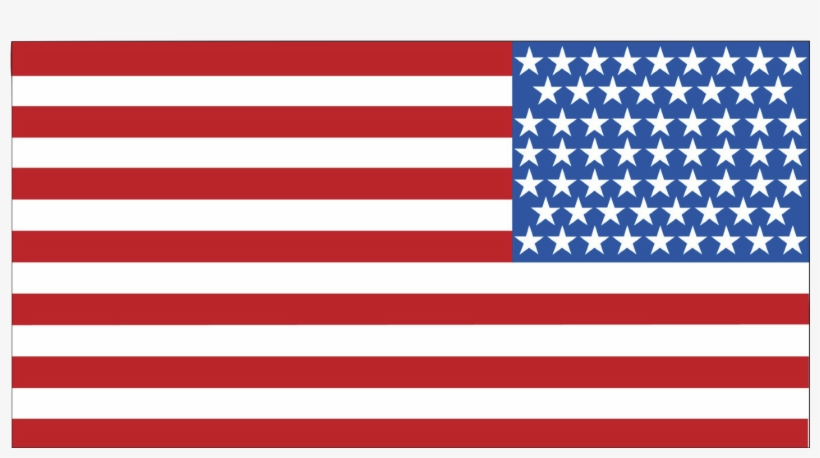 Usa Flag Clipart Png - American Flag Clipart Transparent, transparent png #82651