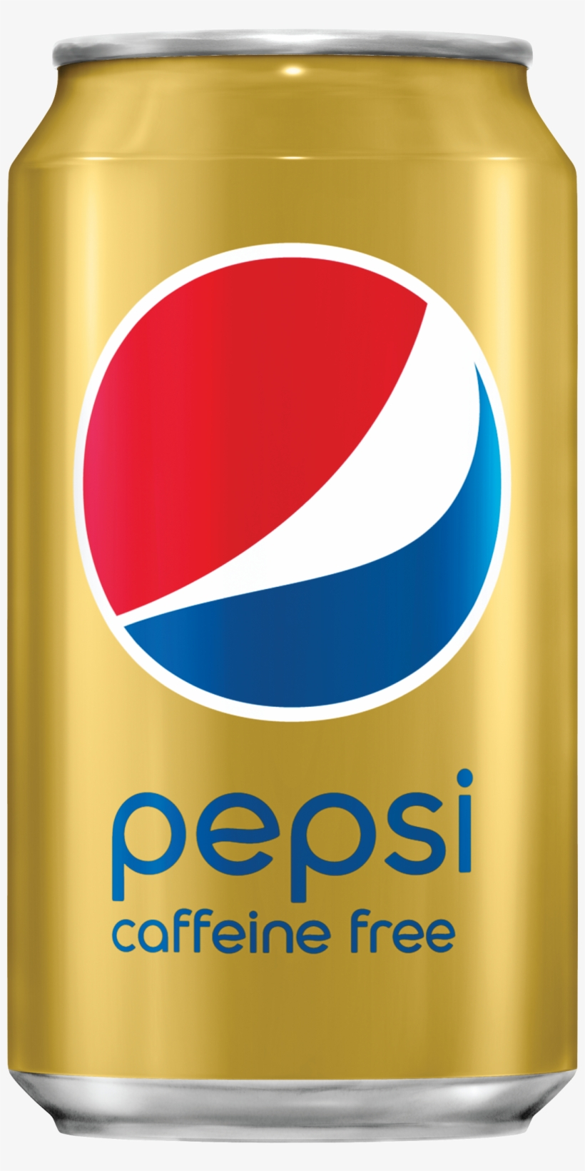 Pepsi Can Png Image Background - Pepsi Caffeine Free - 12 Fl Oz Can, transparent png #82865
