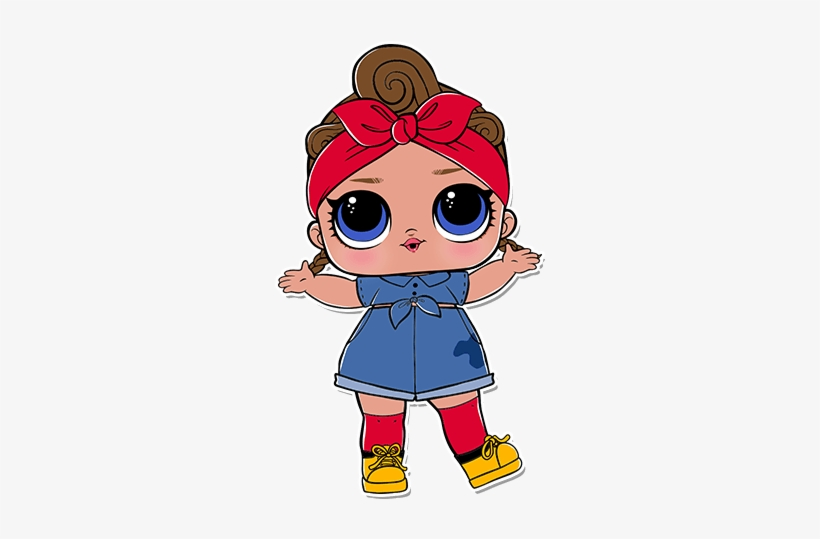 3-033 Can Do Baby - Can Do Baby Lol Doll, transparent png #82953