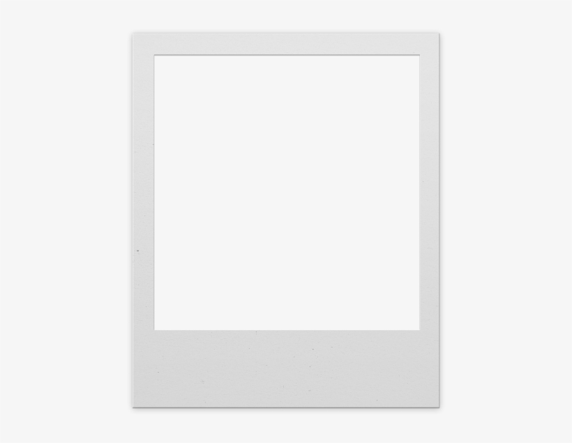 Polaroid Frame Png For Photoshop - Classic Photo Frame Template, transparent png #82994