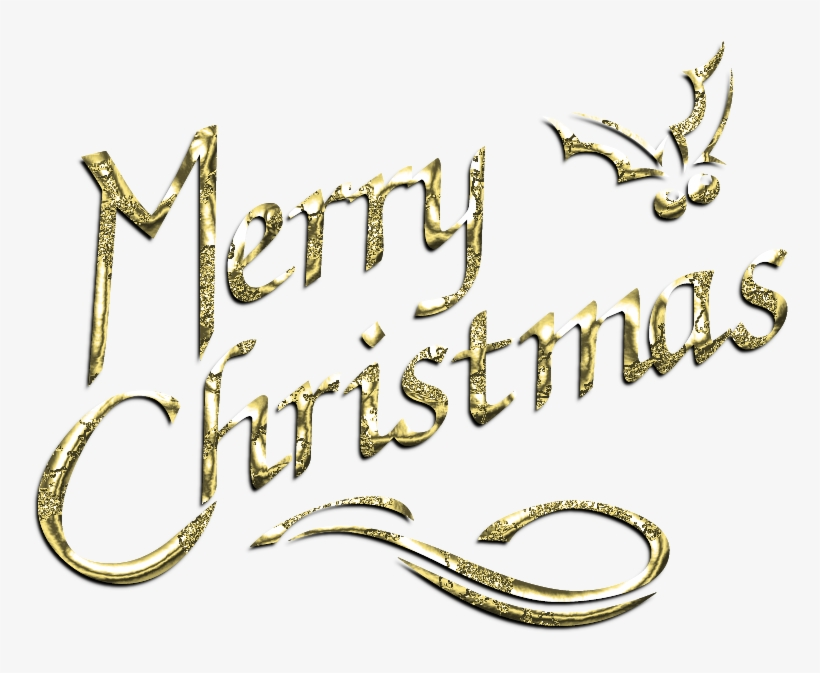 Merry Christmas Cliparts 89xi4s Clipart - Merry Christmas Text Images Png, transparent png #82997