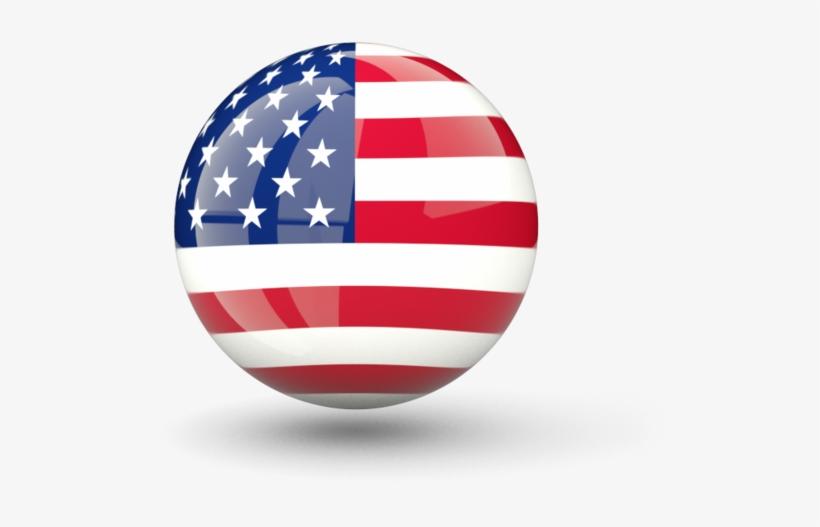 American Us Flag Icon Image Free - Iconos Bandera Usa Png, transparent png #83420