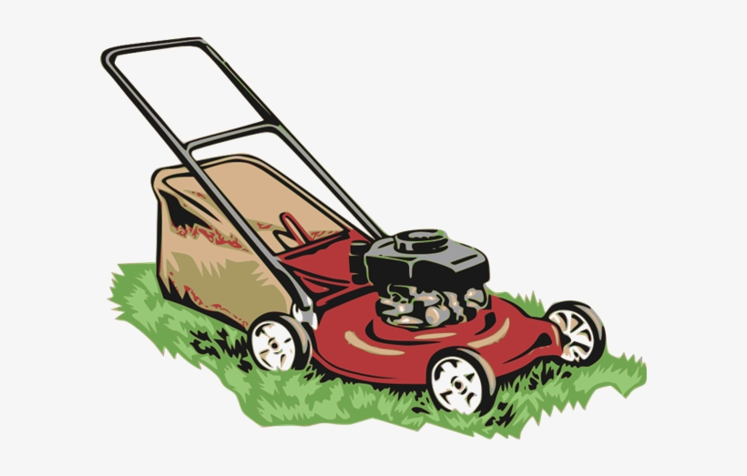 Clipart Freeuse Library Collection Of Lawn Mower Transparent - Lawn Mower Clip Art, transparent png #83943