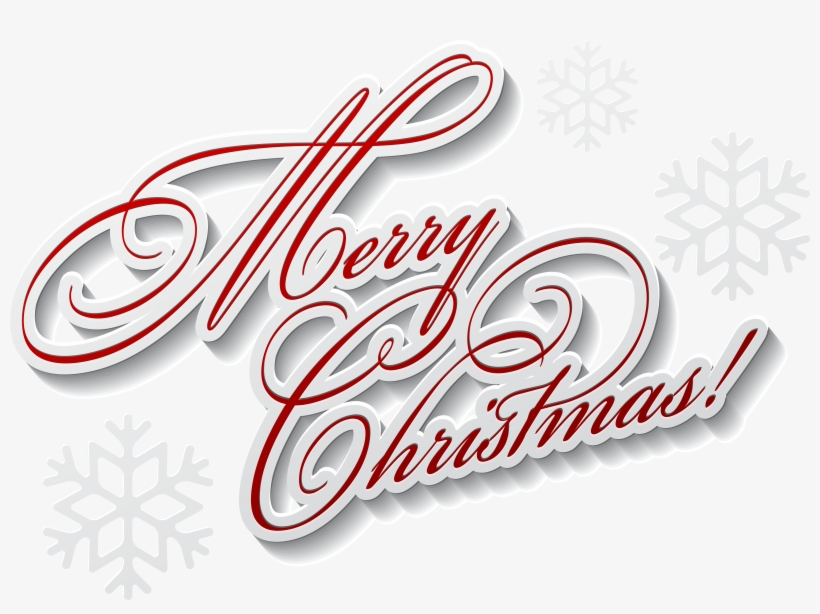 Merry Christmas Text Png, transparent png #84363