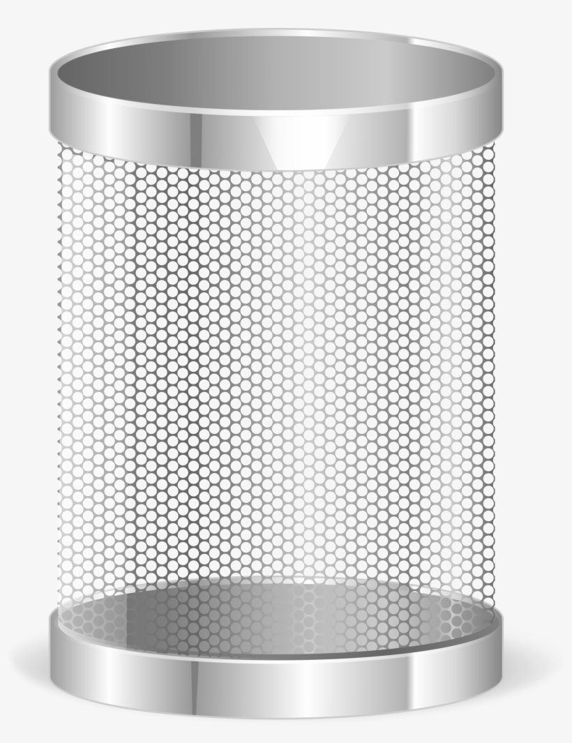 Open Garbage Can Png - Transparent Trash Bin Png, transparent png #84562