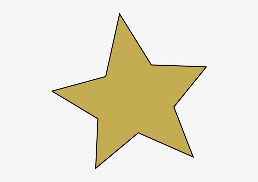 Gold Star Clip Art Image - Gold Star Clip Art, transparent png #85106