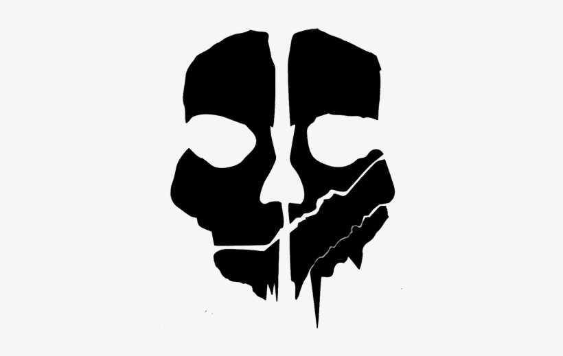 Call Of Duty Ghosts Logo Png Cod Ghosts Mask Template Free