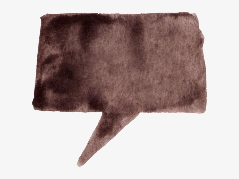 Free Download - Brown Speech Bubble Png, transparent png #85870