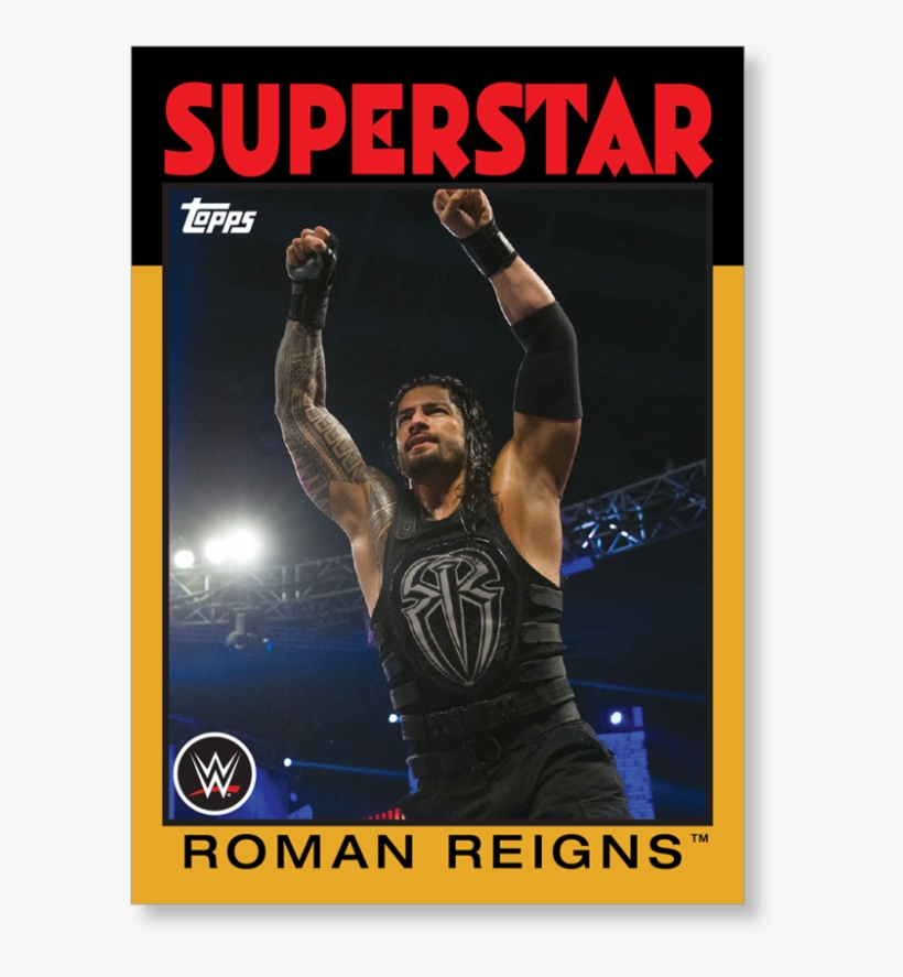 Roman Reigns - 2016 Topps Wwe Heritage Wrestling Hobby Box, transparent png #85916