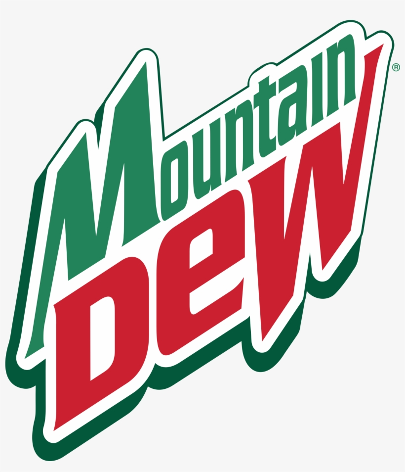 Mountain Dew Logo Png Transparent - Mountain Dew Cold Drink Logo, transparent png #86049