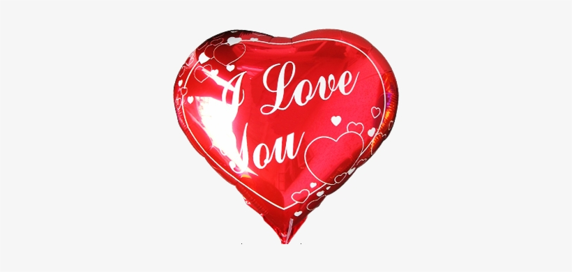 I Love You - Red Love Heart Balloons, transparent png #86550