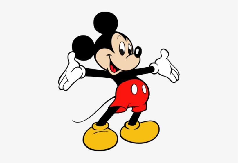 Cartoon Transparent - Mickey Mouse Disney Logo, transparent png #87914