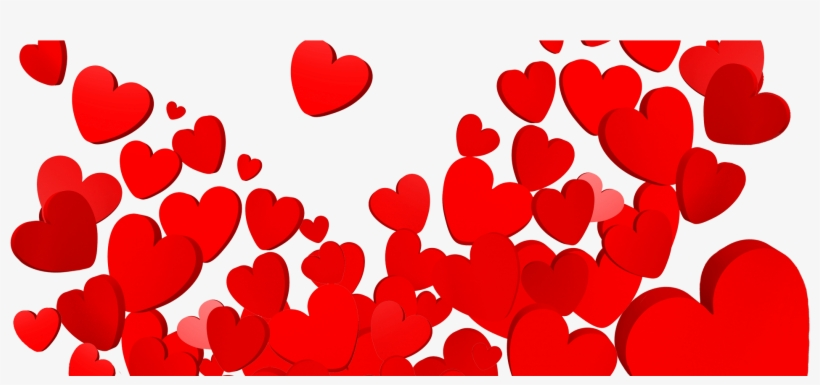 Valentines Day Heart Png Free Download - Valentines Hearts Png, transparent png #88211