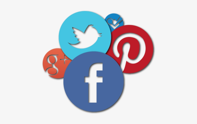 Social Media Icons - Facebook Twitter Instagram Google Plus Logo, transparent png #88435