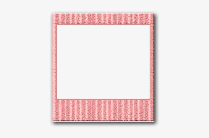 Frames - Pink Polaroid Frame Png, transparent png #88536