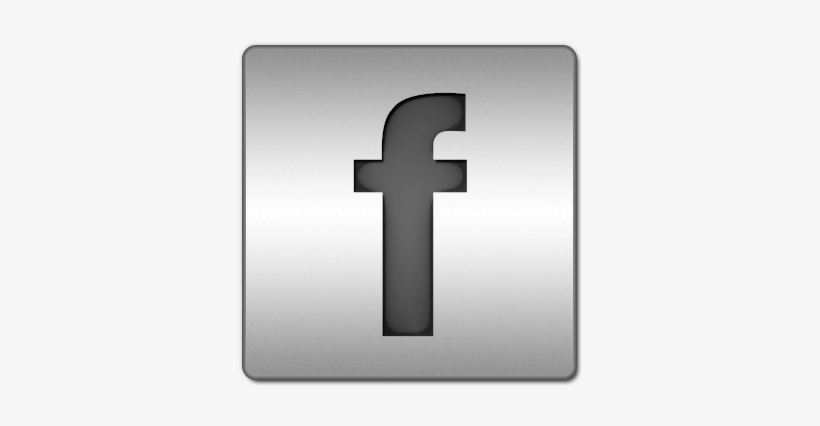 Facebook Logo Social Social Network Sn Icon, Thumb - Steel Facebook Icons Png, transparent png #88742