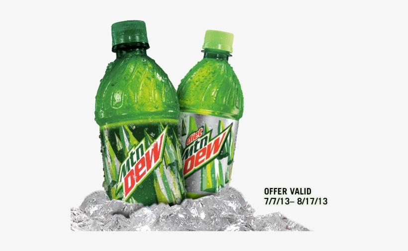 Mtn Dew Bottle Png - Diet Mountain Dew - 20 Fl Oz Bottle, transparent png #88768