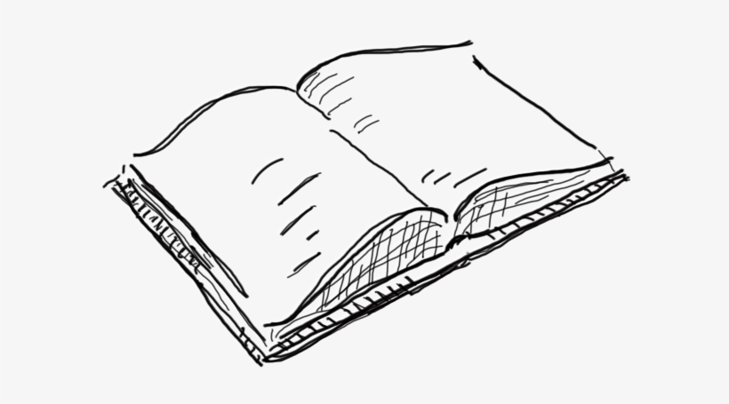 Open Book Drawing Png Free Transparent Png Download Pngkey