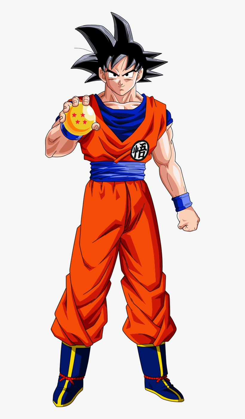 Dragón Ball Super - Dragon Ball Z Proportions, transparent png #89816