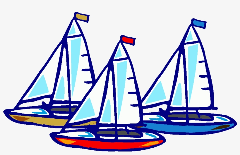 Freeuse Download Yacht Racing Clipart - Boat Race Clip Art, transparent png #89888
