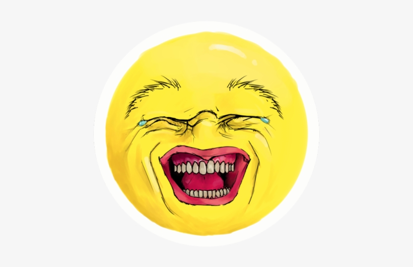 Cry Laugh Emoji Png - Realistic Laughing Crying Emoji, transparent png #89946