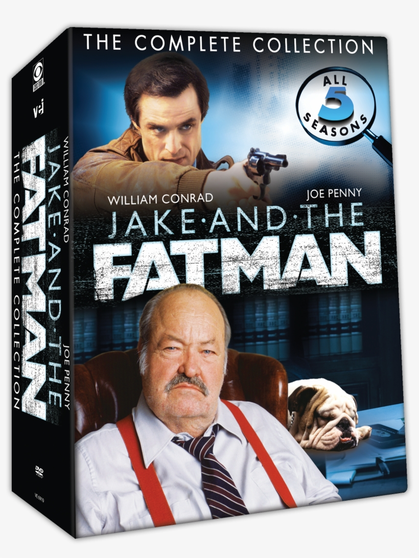 Jake And The Fatman - Jake And The Fatman - Season 1, Volume 2, transparent png #800021