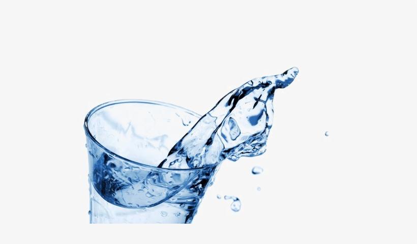 Water Glass Splash Png Download Image - Water In Glass Splash Png, transparent png #800165