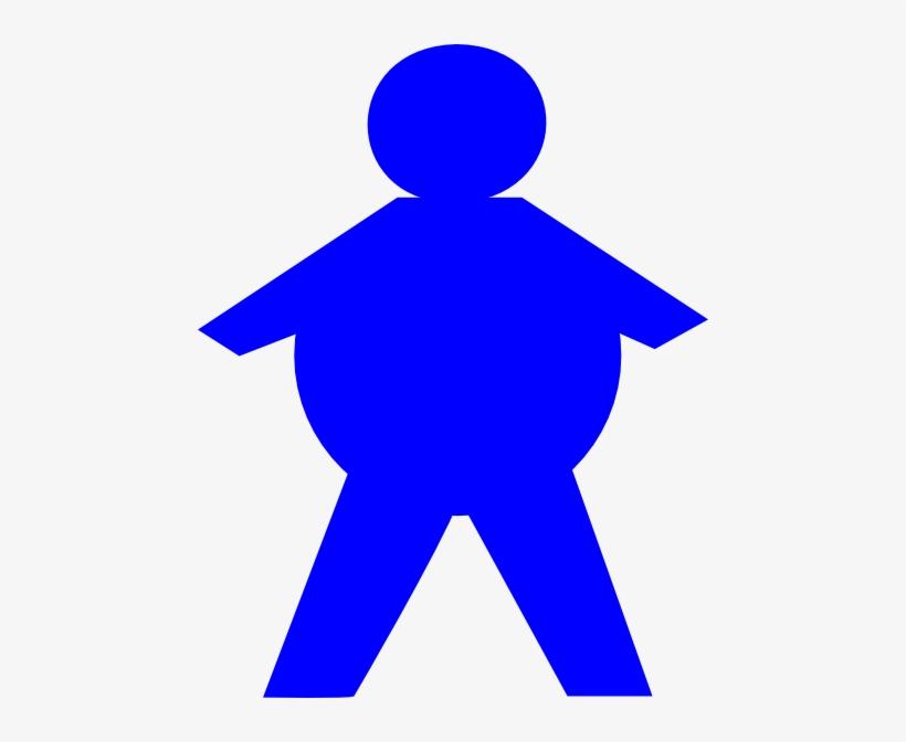 Clipart Free Download Stickman Clip Art At Clker Com - Fat Stick Figure Clip Art, transparent png #800213