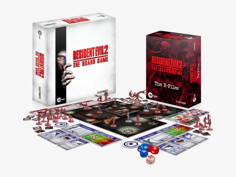 Resident Evil 2 Board Game Capcom Steamforge Games - Resident Evil 2 Board Game, transparent png #801134