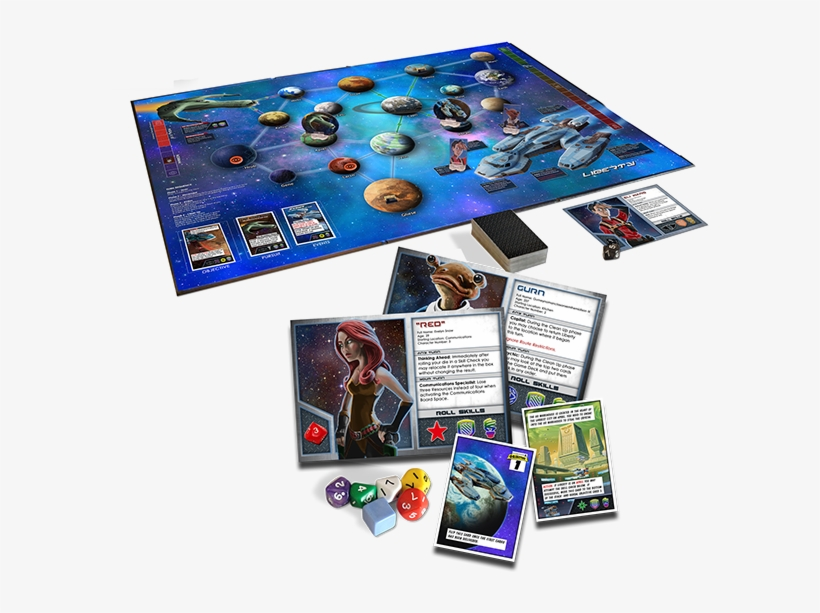Main Game Image - Space Movers 2201 Board Game, transparent png #801424